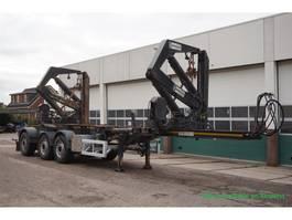 Container-Fahrgestell Auflieger Hammar Side Loader 160HC / Multi Twistlocks / Extendable 2012