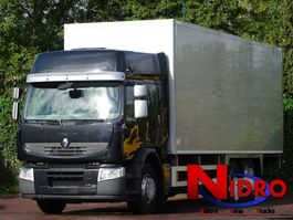 closed box truck Renault PREMIUM 340.26 S 6x2 AIRCO ISOTHERM BOX LBW 3.5 TON 2011