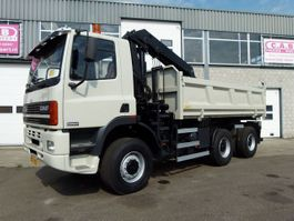 LKW Kipper > 7.5 t Ginaf M 3335-S 6x6 + Crane HMF1150 1998