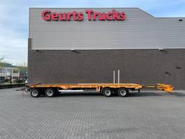 semi lowloader trailer Goldhofer TP-L4-1/80 4 ASSIGE DIEPLADER AANHANGER UITSCHUIFBAAR 2009