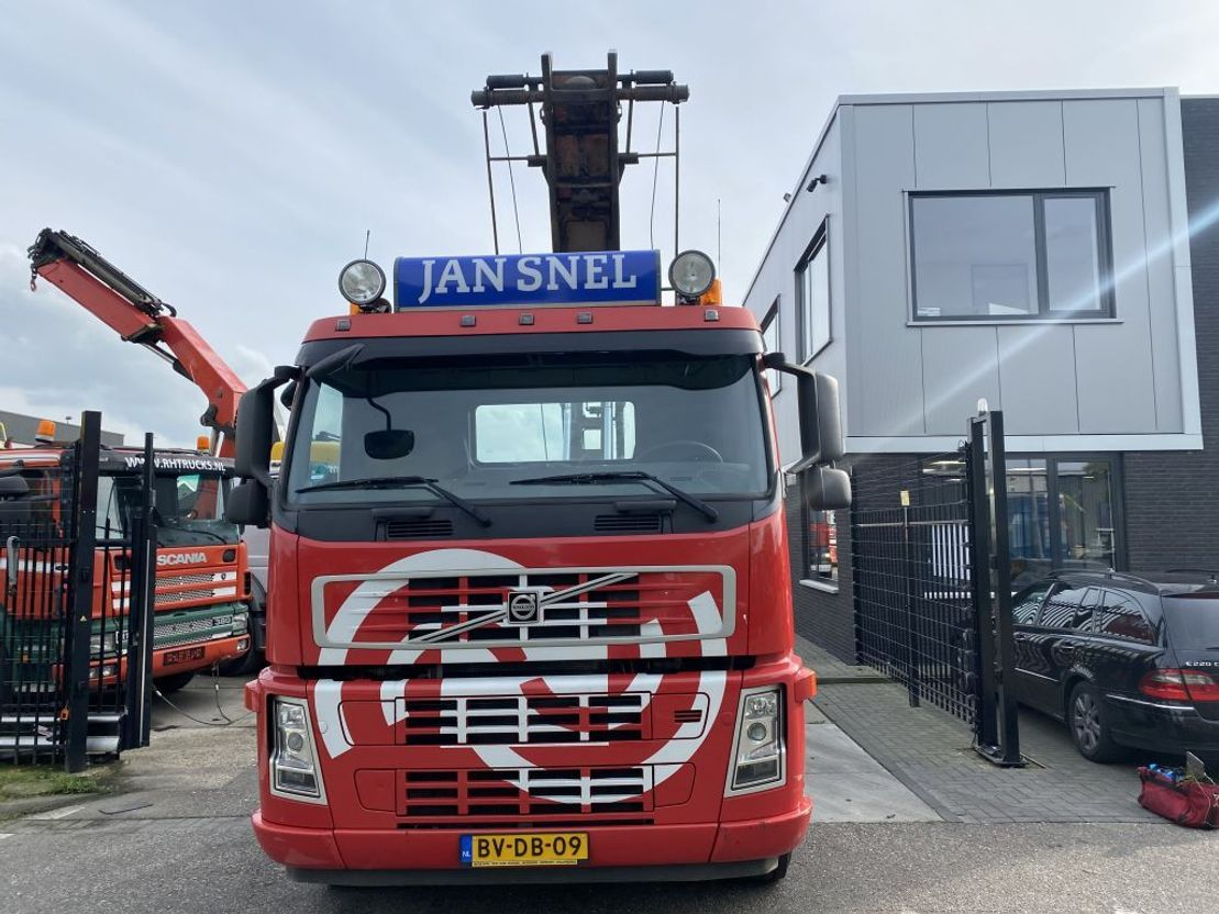 container truck Volvo FM13 -440 8X2R EURO 5 + 30 TON KABEL 2008