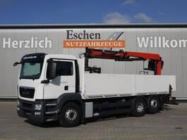 drop side truck MAN TGS 26.400 LL, Euro 5, Palfinger PK 21001 L 2014