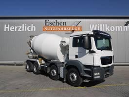 concrete mixer truck MAN TGS 35.400 8x4, Liebehrr 9m³, 2014