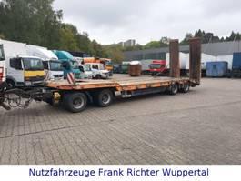 lowloader trailer Humbaur HTD40, Tieflader, Hydr.Rampen,Nutzlast31.320