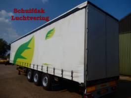 sliding curtain semi trailer Humbaur HSA 2006 3 As Oplegger Schuifzeil , OJ-20-LP 2007