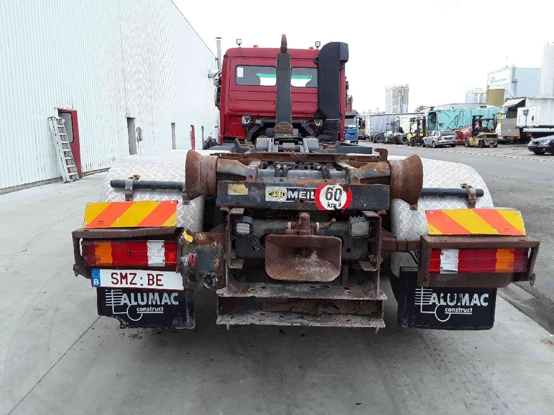 "container truck Mercedes-Benz Actros 2641 meiller Xr 250""km 2007"