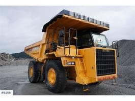 wheel dump truck Komatsu HD325 Tippertruck 2005