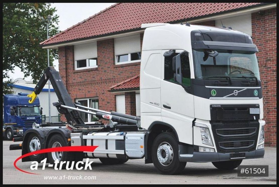 container truck Volvo FH 460 Hyva 20.60 Volll-Luft, Safety Pack, 2016