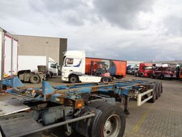 container chassis semi trailer Van Hool S/00101 + 3 Axle + Extendable 20+30+40+45 FOOT 2004