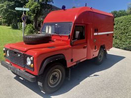 suv car Land Rover Defender 110 Camping Cargo LPG 1991