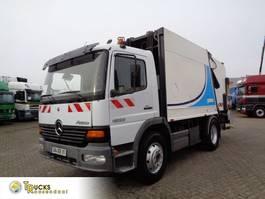 garbage truck Mercedes-Benz Atego 1523 + Manual + Garbage truck + Blad-blad 2001