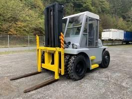 all terrain forklift Caterpillar Towmotor B 16 **Perkins / 12 tons / Schaltung** 1985