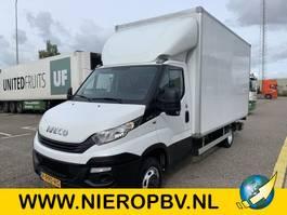 closed box truck Iveco daily 35C15 bakwagen laadklep zijdeur 2018