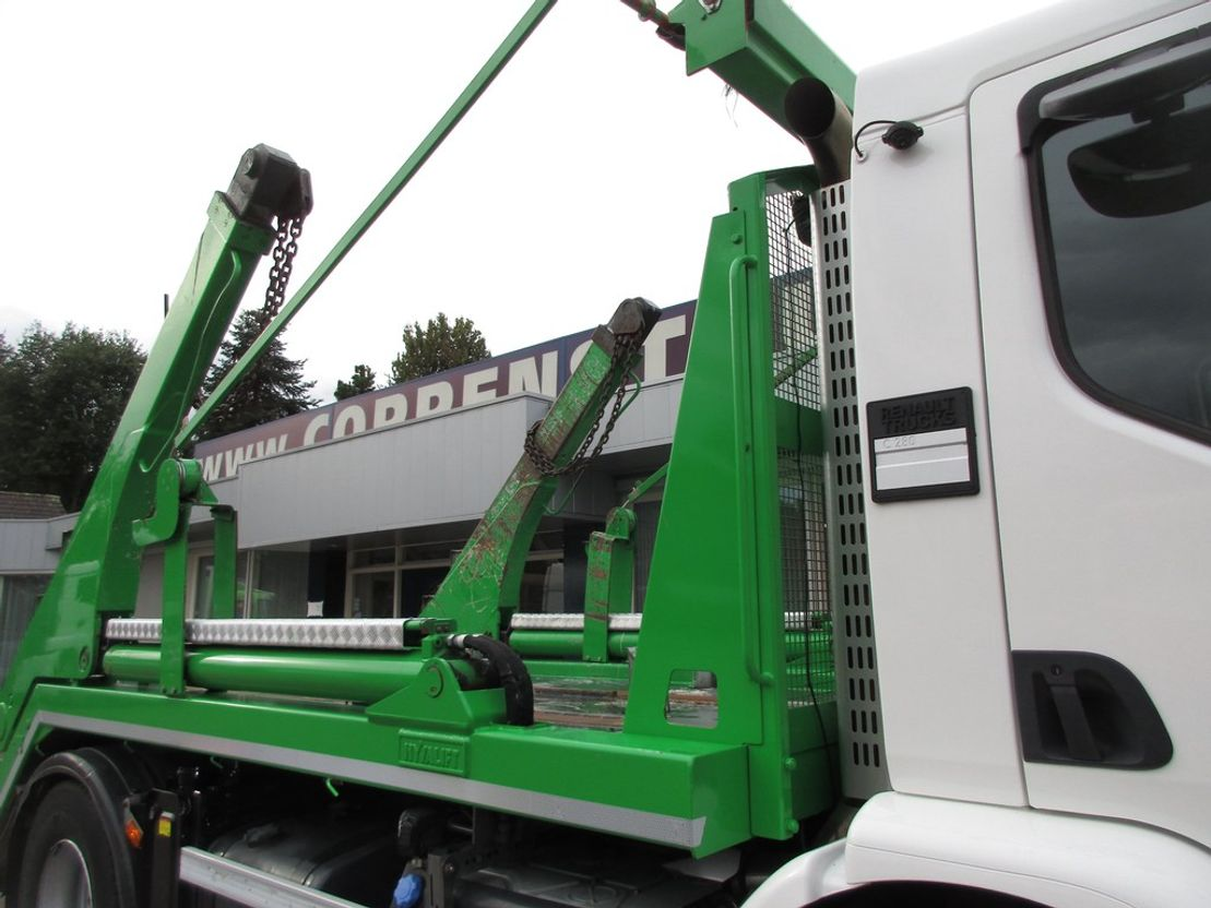 container truck Renault C 280 4x2 Euro 6 Portaalsysteem 2016