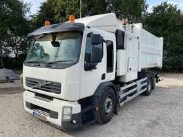 garbage truck Volvo FE 260 R EEV 6X2 + TRANSLIFT 22 M3 2011