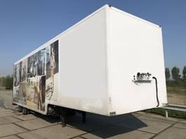 closed box semi trailer Van Eck 2 Axle Steered | Semi Trailer city | Low-bed Closed Box Rollerdoor Autosport Motorsport 2006