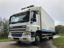 closed box truck > 7.5 t DAF CF65 | Thermo King Refrigerated Box Truck + Taillift | Frigo Kühlkoffer 2010