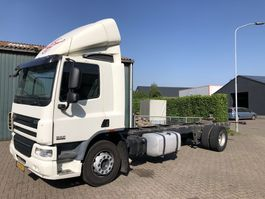 chassis cab truck DAF DAF FA-CF 65 Chassis Cabine Rigid Fahrgestell Oprijwagen 2012