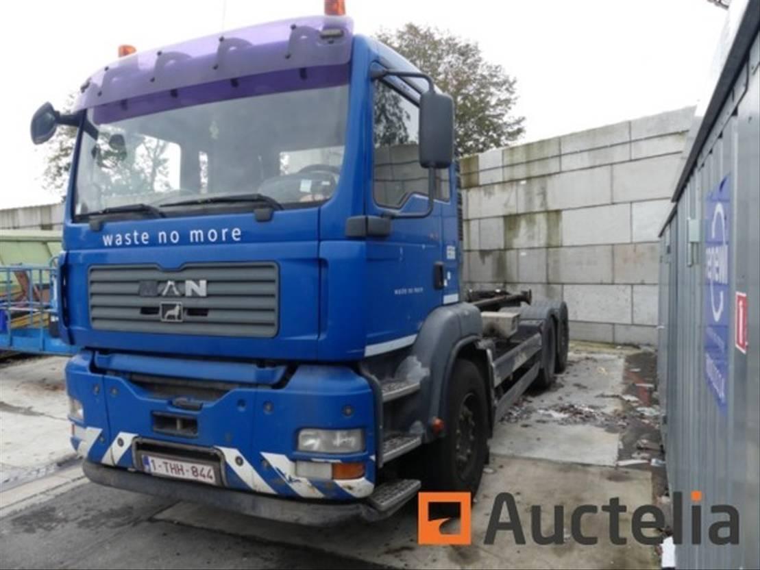 container truck MAN TGA 26.350 2005