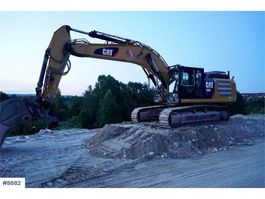 crawler excavator Caterpillar 336EL w/ Diggingbucket 2014