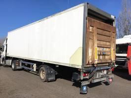 refrigerated semi trailer LAMBERET BPW assen + laadklep 2001