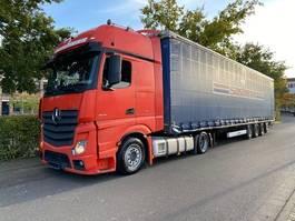 mega-volume tractorhead Mercedes-Benz Actros 1842 GigaSpace/Retarder/Komplettzug 2014
