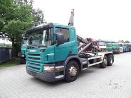 swap body truck Scania P380 6X2 HAKEN 2009