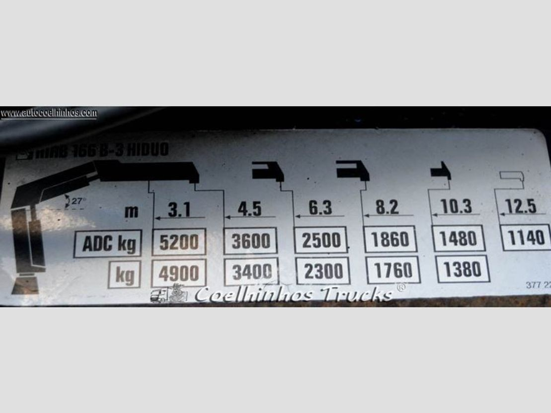 container truck Mercedes-Benz 3341 Actros 2004