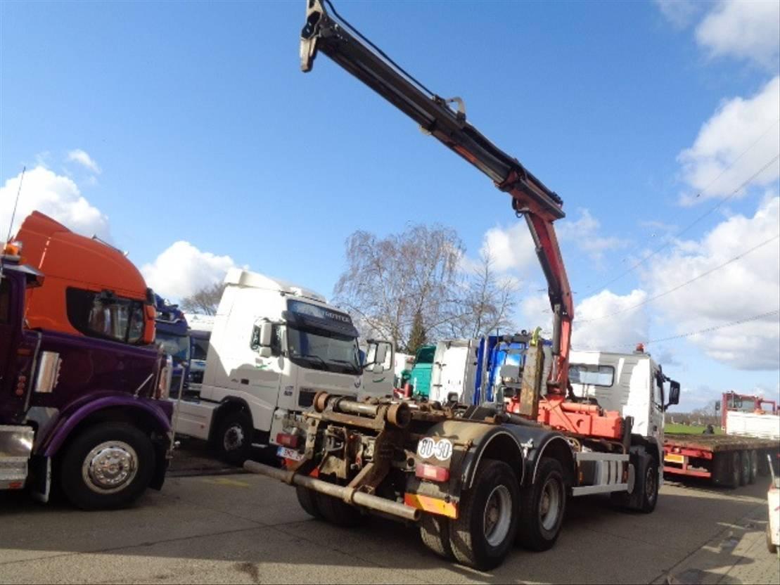 container truck Volvo FM12 460 PALFINGER PK 15500/3+remote 2004