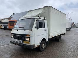 closed box truck Volkswagen LT 40 APK tot 02-2021 Steel Springs 1987