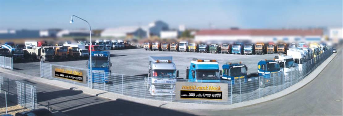 container truck Diversen Gergen TAK Absetzkipper mit Ladearm