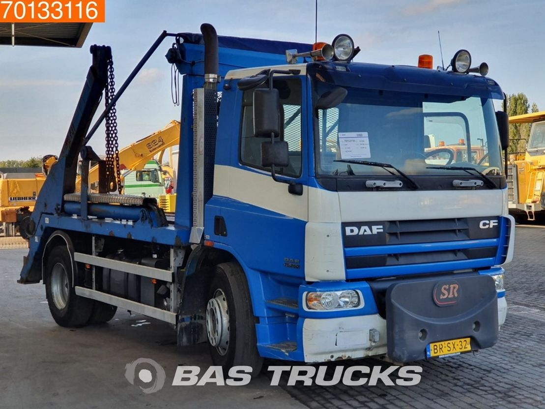 container truck DAF CF 75 250 4X2 Manual Euro 3 2006