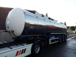 tank semi trailer semi trailer Van Hool HEIZBAR