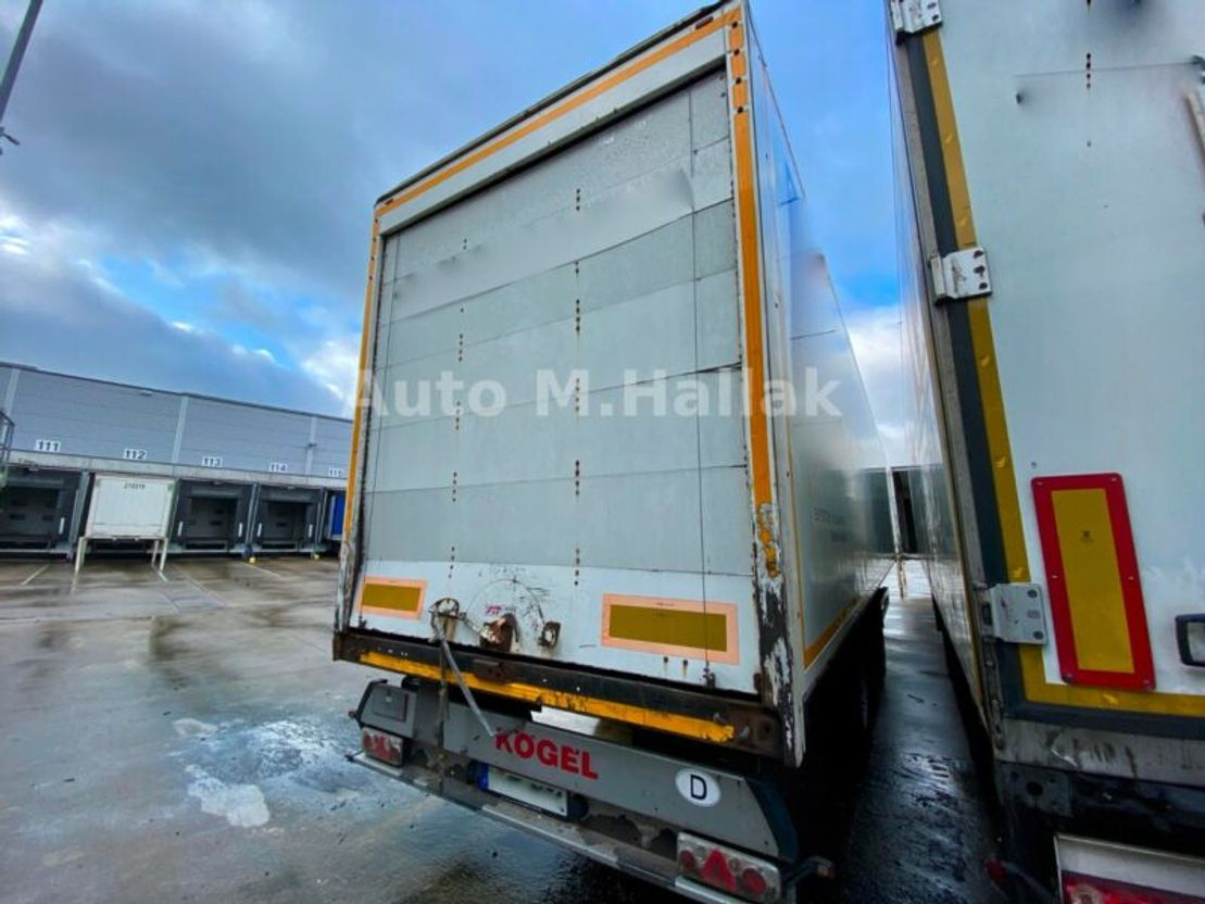 Schiebeplanenauflieger Kögel SP 24 Koffer / Doppelstock / Liftachse / Rolltor