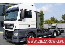 chassis cab truck MAN TGX 26.460 , XLX , E6 , 6x2 , BDF , standard , chassis 7,1m , re 2017