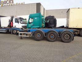 container chassis semi trailer Renders Euro 800 + 3 axle 2003