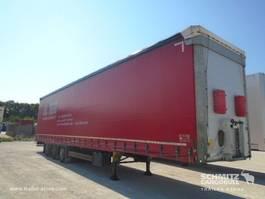 sliding curtain semi trailer Schmitz Cargobull Curtainsider Mega 2016