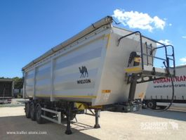 tipper semi trailer Wielton Tipper Steel-square sided body 56m³ 2019