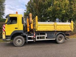 tipper truck > 7.5 t Volvo FM9 , 4x4 , Kipper + Kraan EFFER E120 , 2005