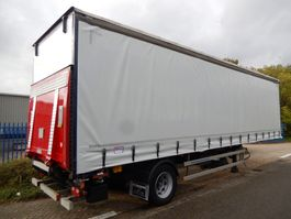 sliding curtain semi trailer Fruehauf FRANCE ONCRS 22-110 A - 1 As Oplegger Schuifzeil, OH-22-LR 2004
