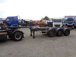 container chassis semi trailer Renders Euro 800 + 3 Axle + Extendable 2001