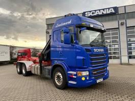 crane truck Scania G480 6x4 Grua Hiab 166 + Gancho 2012