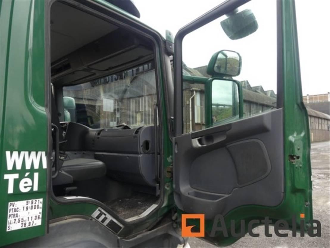 closed box truck > 7.5 t Scania P230 2010