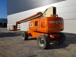 telescopic boom lift wheeled JLG 860 SJ 2008