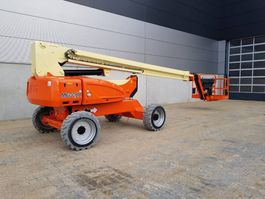 telescopic boom lift wheeled JLG M 600 JP 2007