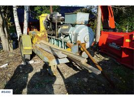 miscellaneous attachment Aggregate on trailer, 125 kva