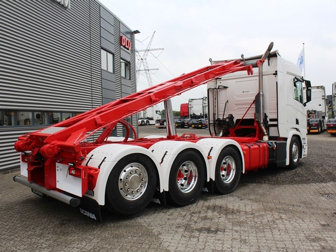 container truck Scania R500 B 8x4-4 NB 2019