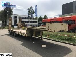 lowloader semi trailer Kaiser Lowbed Steel suspension, Max 53600 KG, B 2,48 + 2 x 0.25 mtr, Lowbed 1974