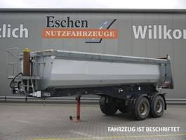 tipper semi trailer Langendorf SKS-HS 18/27, 22 m³, BPW, Luft, Podest, Trommel 2003