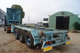 chassis semi trailer Gofa 3-assige oplegger 1993